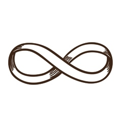 Infinity sign vector