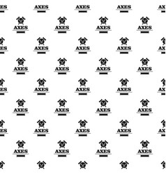 military axe pattern seamless vector image
