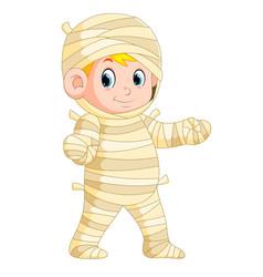 Mummy walking vector