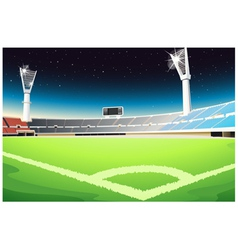 Sporting stadium vector