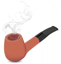 briar pipe vector image vector image