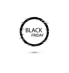 Black friday sale sign icon special offer symbol vector