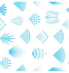 cartoon aerosol spray seamless pattern background vector image