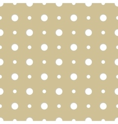 Seamless background pattern with dots vector image