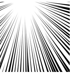 speed lines comic book design vector image