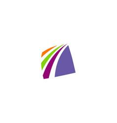 Square loop company logo vector