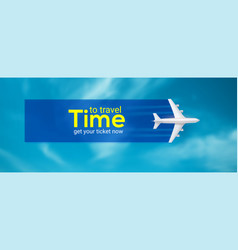 Time to travel air transport between countries vector