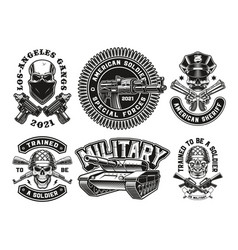 A set military vector