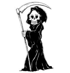 Grim reaper theme image 4 vector