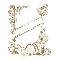 Harvesting frame vector