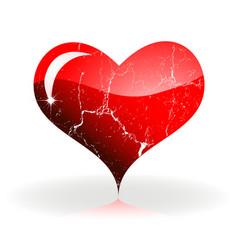 heart stvalentine vector image