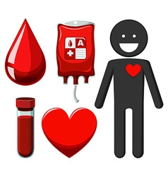 Human and blood donation vector