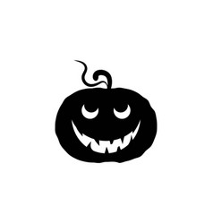jack olantern happy halloween icon vector image