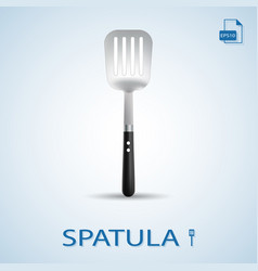 kitchen tools spatula isolated on a background vector image