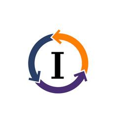 management process letter j vector image
