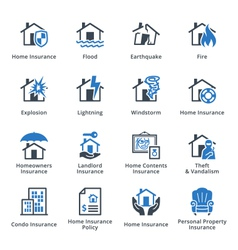 Property Insurance - Blue Series vector