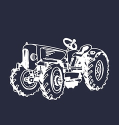 Vintage car design vector image
