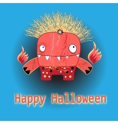 The beautiful of shalloween vector image