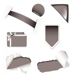 shop sale elements black vector image vector image