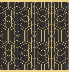 Abstract art deco seamless pattern 07 vector