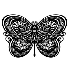 Artistic buttefly design vector