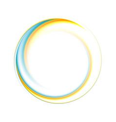 Colourful logo shape vector
