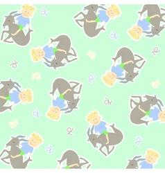Horoscope capricorn background vector