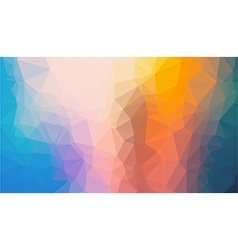 Low poly geometric abstract background vector