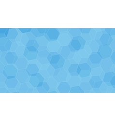 Background with blue honeycombs vector image