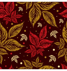 autumn grunge backgound vector image vector image
