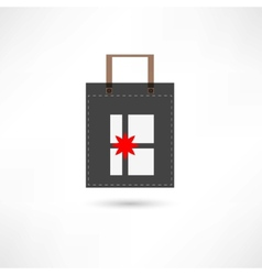 present in a bag vector image