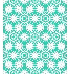 Simple lacing elegant linear pattern vector image