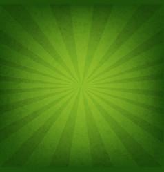 green sunburst wallpaper vector image