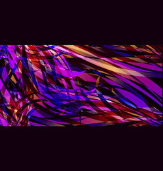 background of smooth colored colorful lines vector image