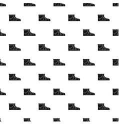 Camp boots pattern seamless vector
