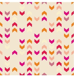 Chevron tile colorful decoration background vector image