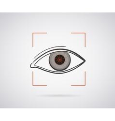 Eye identification vector