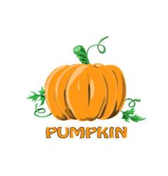 Logo icon design pumpkin farm vector