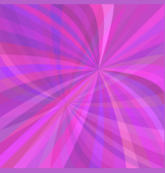 Purple abstract curved ray burst background vector
