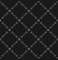 Seamless pattern in oriental style delicate vector