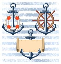 Nautical collection 5 vector