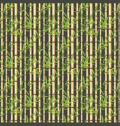 Bamboo branches design vector