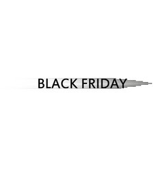 black friday speed icon on the white background vector image