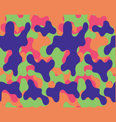 camouflage patternseamless vector image