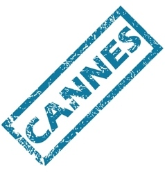 Cannes rubber stamp vector