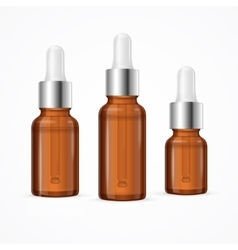 Essential Oil Bottle Package Set vector image