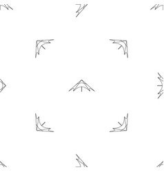 Festival outdoor tent pattern seamless vector