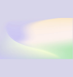 Gradient pastel mixed colours trendy banner vector