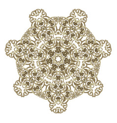 isolated decorative element for card design vector image
