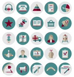 Management and Marketing Icons Set2 vector